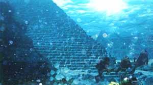 Зиккураты, Пирамиды под водой