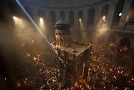 Откуда в Иерусалиме Благодатный огонь?