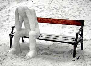 Раньше зимой в Рязани не было снега
