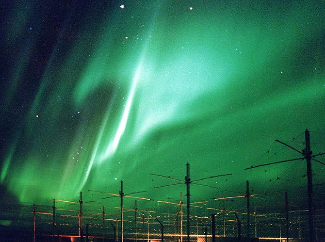 HAARP сумела зажечь ионосферу Земли