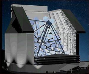 Телескоп Colossus будет искать инопланетян