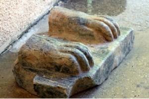 Легендарный сфинкс обнаружен в Израиле