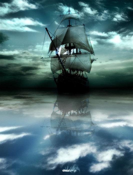Все о кораблях призраках