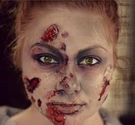 Как сделать грим на Хэллоуин