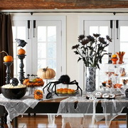 Как украсить стол на Хэллоуин