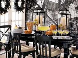 Как украсить зал на Хэллоуин