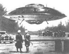 Секретные контакты рейха с инопланетянами