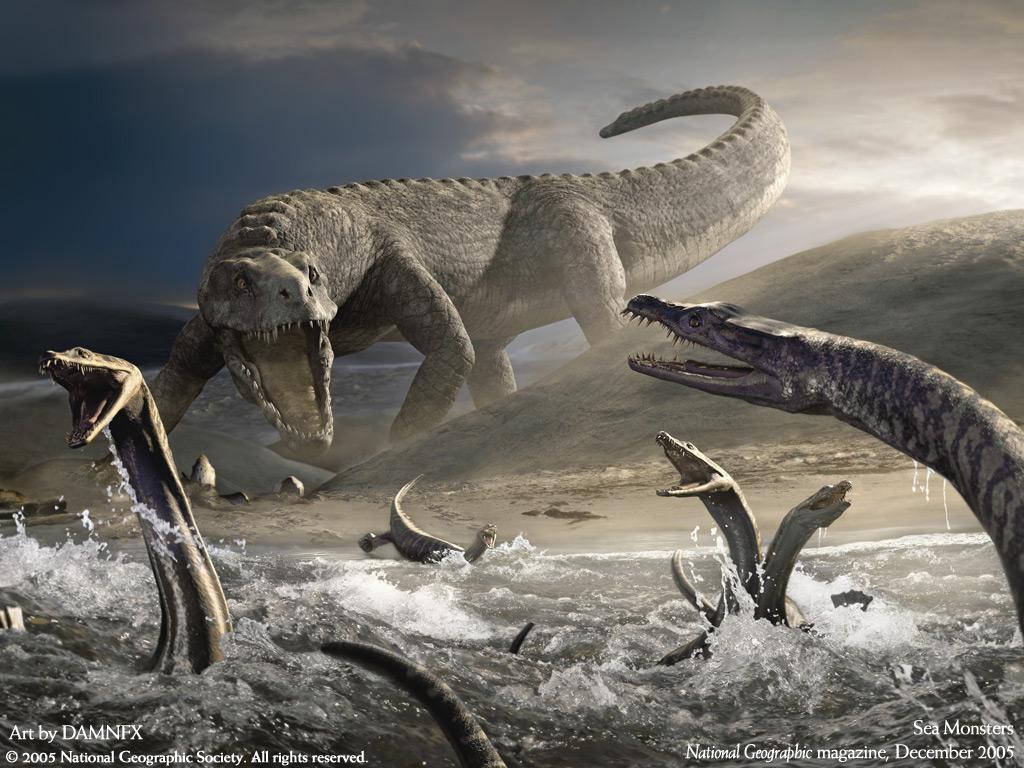 Динозавры в нашем мире