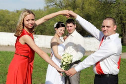 Приметы на свадьбу для свидетелей