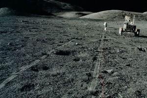 Фото НЛО на Луне