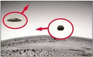 Фото инопланетян на Марсе